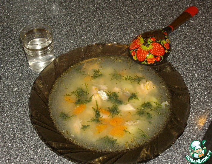 Рецепт: Уха из семги