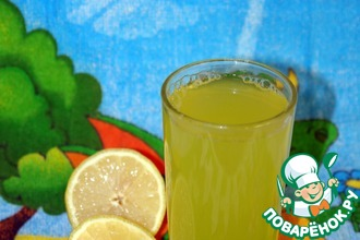 Рецепт: Имбирный лимонад