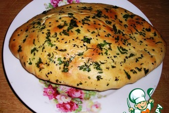 Рецепт: Индийские лепeшки Наан