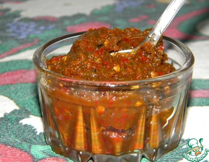 Рецепт: Настоящая абхазская аджика