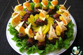 Рецепт: Закуска Муравьиные попки