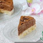 Торт-десерт Шоколадно-банановый мусс