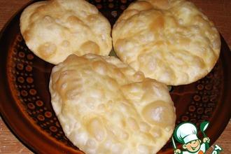 Рецепт: Воздушные индийские хрустящие шарики Пури