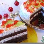 Торт на кефире Маскарад