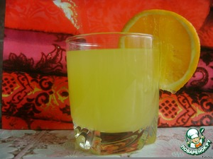 Рецепт Апельсиновый напиток (4 апельсина = 9 литров)