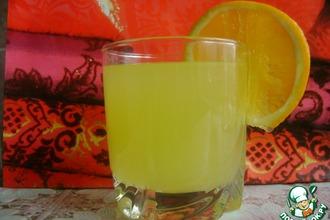 Рецепт: Апельсиновый напиток