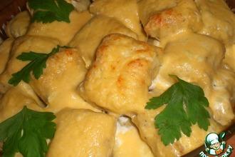 Рецепт: Ньоки, запечeнные под сыром