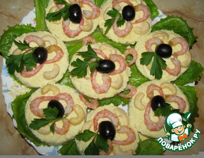 Рецепт: Закуска Тропические острова