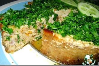 Рецепт: Рыбник с грибами