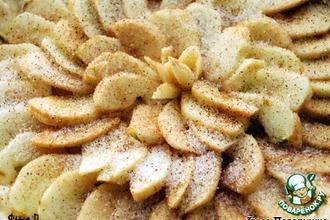 Рецепт: Французский тарт с яблоками