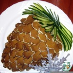 Закусочный торт Кедровая шишка