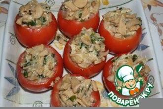 Рецепт: Фаршированные помидоры Секрет