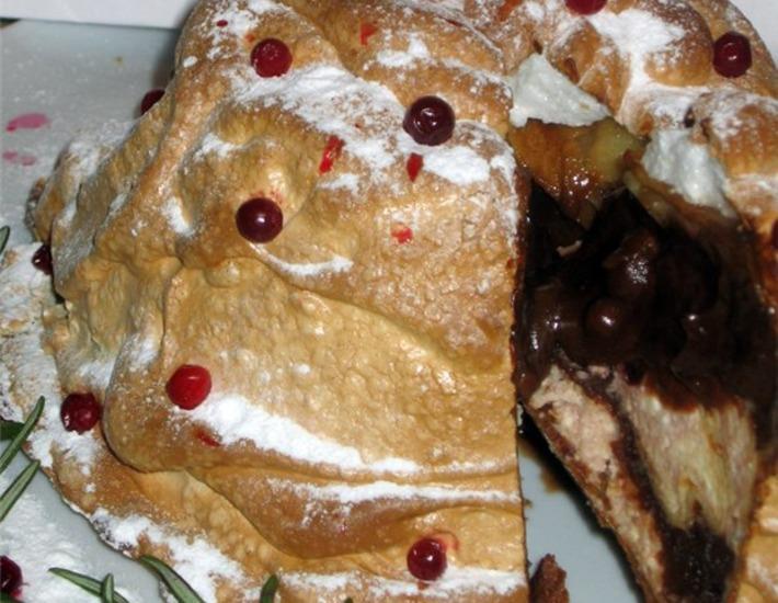 Рецепт: Блинный пирог Просто АХ!