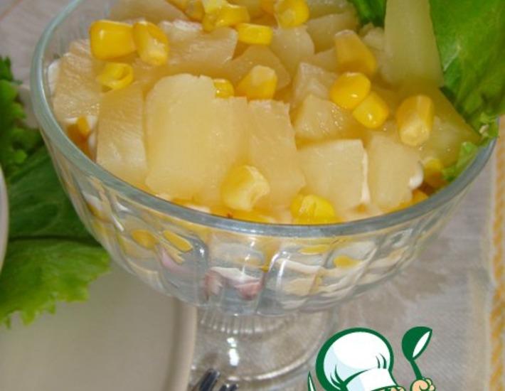 Рецепт: Салат Тропиканка