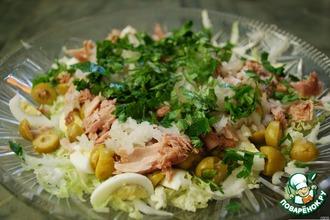 Рецепт: Салат Зеленое море