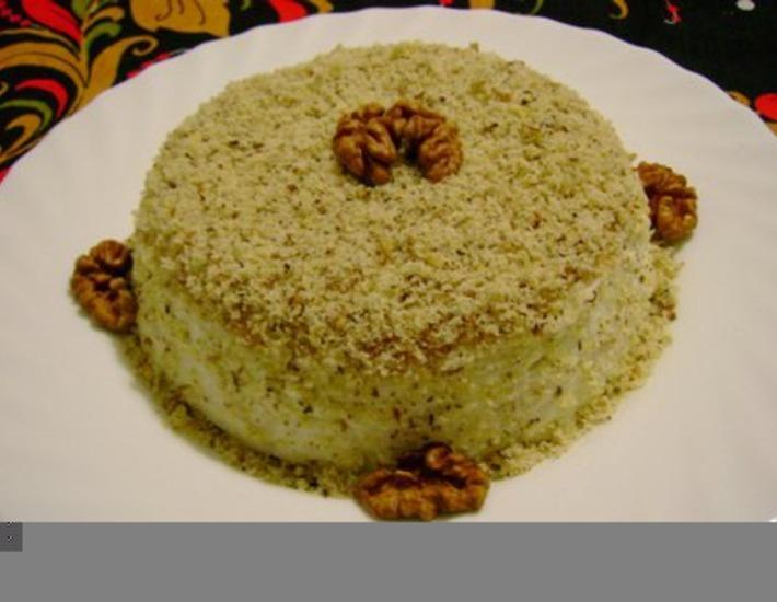 Рецепт: Салат Нежность