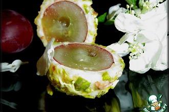 Рецепт: Сырно-виноградные шарики Любаша