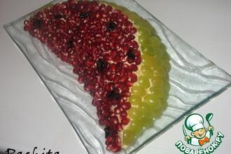 Рецепт: Салат Долька арбуза
