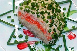 Рецепт: Классический салат Мимоза