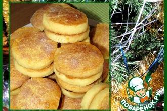 Рецепт: Шведское печенье Julkuchen