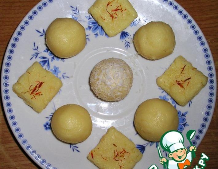 Рецепт: Нежная сладость Бурфи