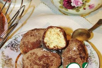 Рецепт: Пирожное Картошка почти по ГОСТу