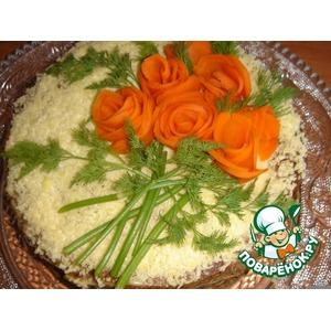 Печеночный торт Для любимого мужа