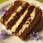 Торт Птичье молоко по-королевски