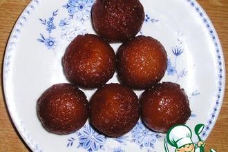 Рецепт: Сладкое индийское лакомство Гулабджамуны