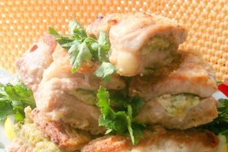 Рецепт: Свинина фаршированная