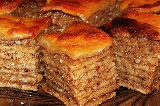 Рецепт: Пахлава оренбургская