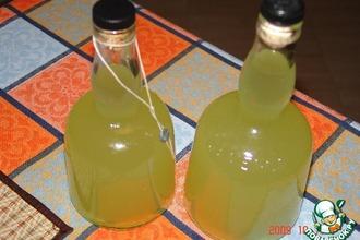 Рецепт: Лимонный ликер Лимончелло