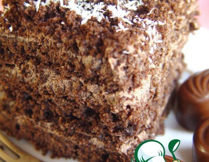 Рецепт: Шоколадный торт Маркиз