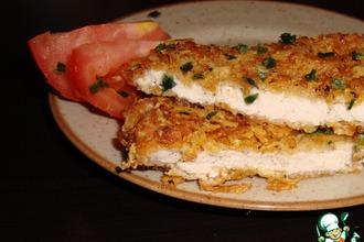 Рецепт: Отбивная в сырной панировке