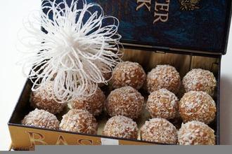 Рецепт: Итальянские новогодние конфеты а-ля Торроне