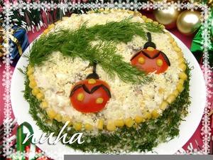 Festive Christmas salad