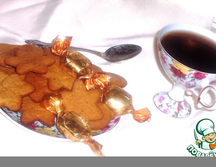 "Рецепт: Имбирное печенье ""Как из Икеи"""