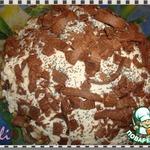 Торт Муравейник под снегом