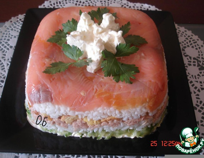 Рецепт: Салат Хазар