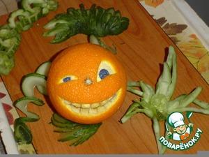 Рецепт Веселый апельсин