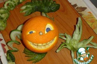 Рецепт: Веселый апельсин