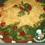 """Блинный овощной пирог """"Радуга"""" – кулинарный рецепт"""