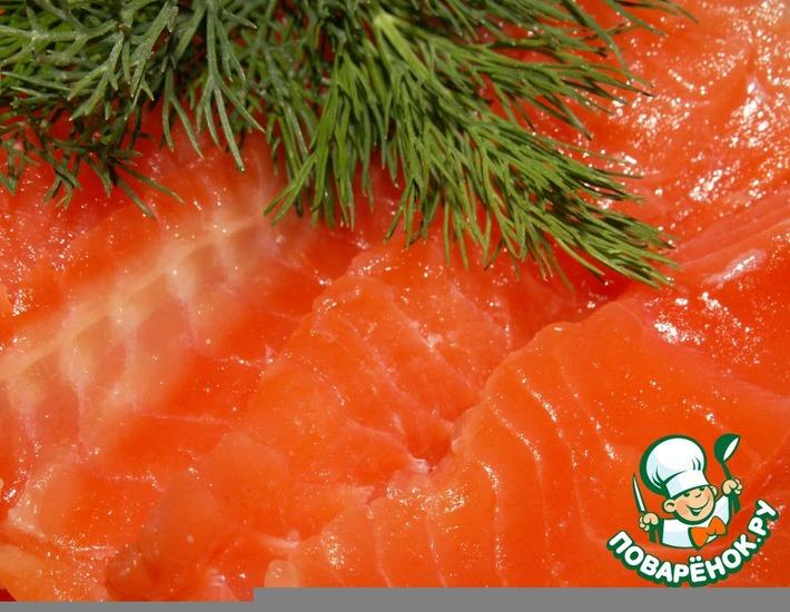 Рецепт: Малосольная рыба По-фински