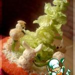 Закусочный торт «Хоровод»