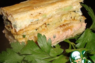 Рецепт: Закусочный торт Праздничный для Машеньки