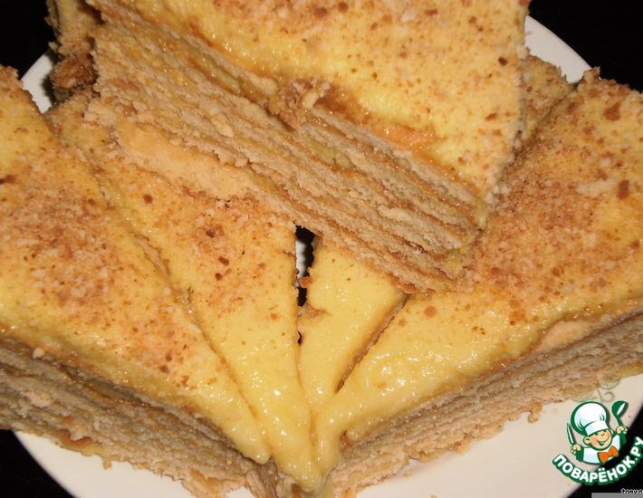 Рецепт: Томатно-апельсиновый торт