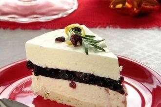 Рецепт: Торт-суфле с белым шоколадом и красным вином