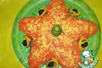 Рецепт: Морская звезда по-королевски