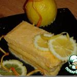 "Замороженный десерт ""Лимонное семифредо"""