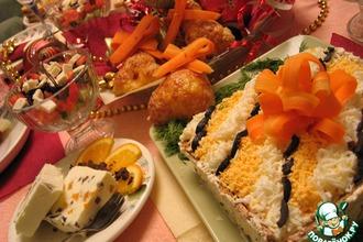 """Рецепт: Десерт  """"Тигриный снег"""""""